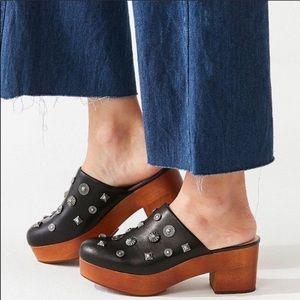 Urban Outfitters stud clog .
